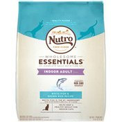 Nutro Complete Daily Nutrition Indoor Adult 1+ years White Fish & Brown Rice Recipe Natural Cat Food Nutro Wholesome Essentials White Fish & Brown Rice Recipe Indoor Adult Cat Food