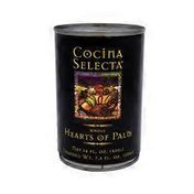Cocina Selecta Whole Hearts Of Palm