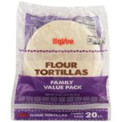 Hy-Vee Flour Tortillas
