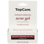TopCare Maximum Strength Acne Benzoyl Peroxide 10% Gel