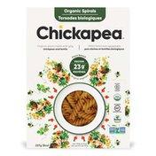 Chickapea Spiral Pasta