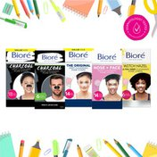 Bioré Charcoal Blackhead Remover Strips for Men