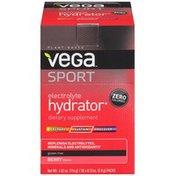 Vega Electrolyte Hydrator Berry Dietary Supplement Powder