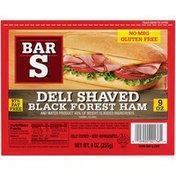 Bar-S Deli Shaved Black Forest Ham