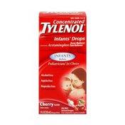Tylenol Concentrated Infants Drops Acetaminophen Cherry Flavor