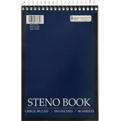 Norcom Steno Book, Gregg Ruled