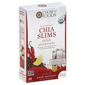 Chosen Foods Chia Slims, Detox
