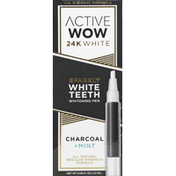 Active Wow Whitening Pen, Charcoal + Mint