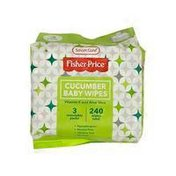 Fisher-Price Cucumber Scent Baby Wipes