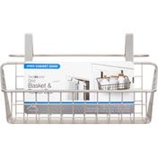 Spectrum Basket & Towel Bar, Over Cabinet Door