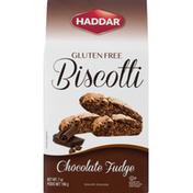 HADDAR Biscotti, Gluten Free, Chocolate Fudge
