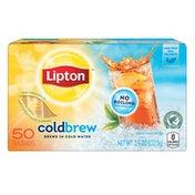 Lipton Cold Brew Unsweetened Black Iced Tea Bags
