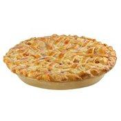 """8"""" Specialty Peach Lattice Pie"""
