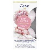 Dove Bath Bombs Peony And Rose
