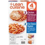 Lean Cuisine Chicken Parmesan & Five Cheese Rigatoni Variety Pack
