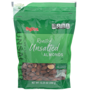 Hy-Vee Unsalted Roasted Almonds