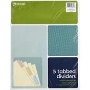 Top Flight Dividers, Tabbed, Multi-Colored Tabs