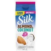 Silk Unsweetened Almond Coconut Milk Blend