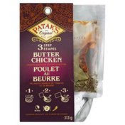 Pataks Cooking Sauce Kit, Butter Chicken