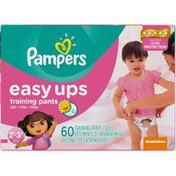 Pampers Easy Ups Big Pack Girls Size 2T-3T Training Pants