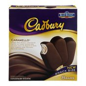 Blue Bunny Cadbury Caramello Snack Size Ice Cream Bars - 8 CT