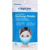 TopCare Earloop Masks, Premium Elastic