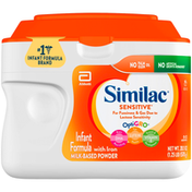 Similac For Fussiness and Gas Infant Formula with Iron Powder