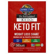 Garden of Life Keto Fit, Weight loss Shake, Chocolate