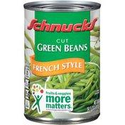 Schnucks Cut French Style Green Beans