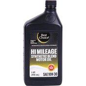 Best Choice Hi-Mileage 10W30 Motor Oil