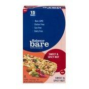 Balance Bar Nutrition Energy Bar Sweet & Spicy Nut - 15 CT