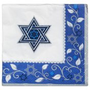 Amscan Luncheon Napkins, Joyous Holiday, 2-Ply