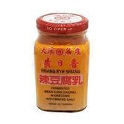 Hwang Ryh Shiang Fermented Bean Curd Chunk In Dressing With Minced Chili