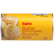 Hy-Vee Butter Flavored Jumbos Biscuits
