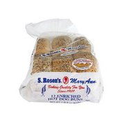 S. Rosen's Mary Ann Enriched Hot Dog Buns - 12 CT