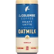 La Colombe Coffee Drink, Real, Draft Latte, Vanilla