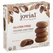 Jovial Cookies, Chocolate, Chocolate Cream Filled, Organic