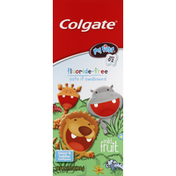 Colgate Toothpaste, Fluoride-Free, Infant & Toddler Ages 0-2, Mild Fruit