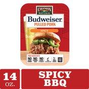 Coleman Budweiser BBQ Spicy Pulled Pork