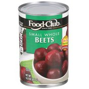 Food Club Small Whole Beets