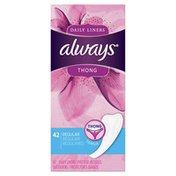 Always Daily Liners, Unscented