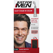 Just For Men Easy Comb-In Color, Dark Brown A-45