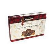 Walkers Luxury Ginger Royals Shortbread