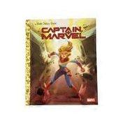Golden Books Captain Marvel Hardcover Book