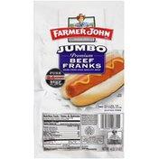 Farmer John Jumbo Premium Beef Franks