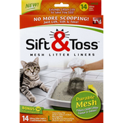 Sift & Toss Litter Liners, Sifting, Mesh, Large