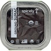 Spicely Organics Sumac, Organic, Ground