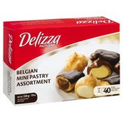 Delizza Mini Pastry, Belgian, Assortment
