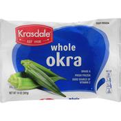 Krasdale Okra, Whole