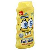 Spongebob Body Wash, Nickelodeon SpongeBob SquarePants, Tropical Tangerine